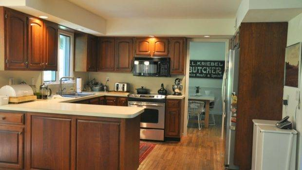 Shaped Kitchen Design Layout Island
