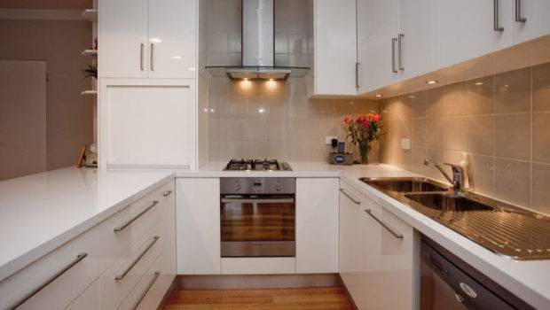 Shaped Kitchen Designs Small Kitchens Efficient Way