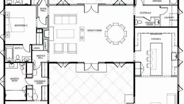 Shaped Ranch House Plans Fresh Modern