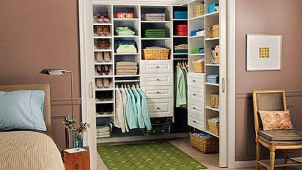 Shaped Walk Closet Ideas Small Spaces Two