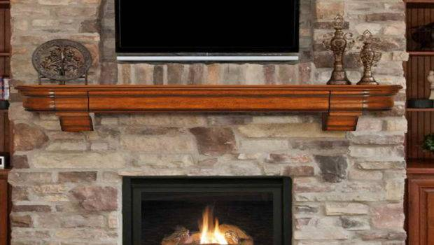 Shelving Fireplace Mantel Shelves Bronze Ornaments