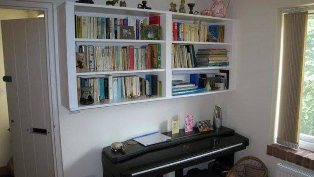 Shelving Hanging Wall Mounted Bookcase