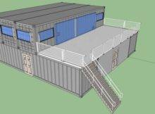 Shipping Container Castle Plans House Square Feet