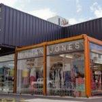 Shipping Containers Start Shopping Mall Christchurch New