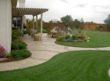Simple Backyard Garden Ideas Photograph
