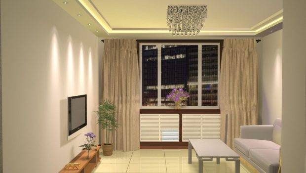 Simple Design Small Living Room
