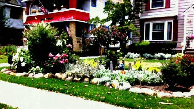 Simple Front Yard Landscaping Ideas Fabulous Budget