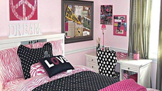 Simple Girly Teenage Rooms Ideas