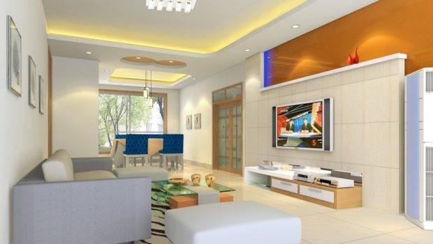 Simple Living Room Interior Design House