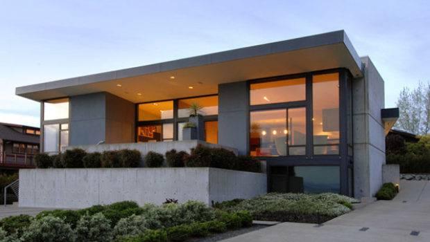 Simple Modern House Charming Lighting Homescorner