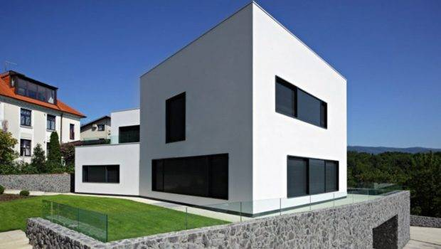 Simple Modern House Design Cube Exterior