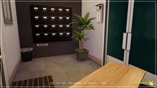 Sims Blog Industrial Apartment Decor Set Inabadromance