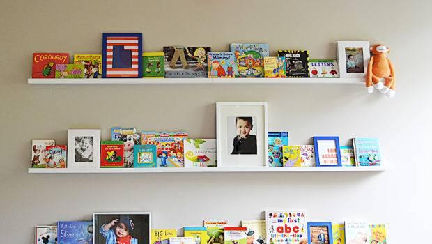 Sita Montgomery Interiors Ikea Ribba Ledge Turned Book Shelf