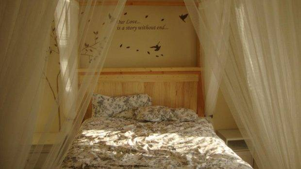 Sized Canopy Farmhouse Bed Yourself Home Projects