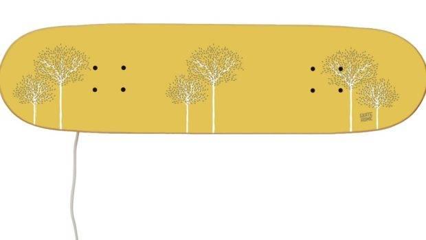 Skateboard Lamp Original Gift Boys Girls Skateboarders