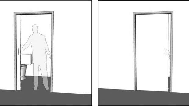 Sliding Door Into Wall