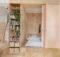 Small Apartment Decorated Plywood Interior Design Ideas
