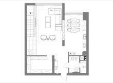 Small Apartment Floorplan Interior Design Ideas
