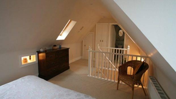Small Attic Bedroom Design Loft Ideas