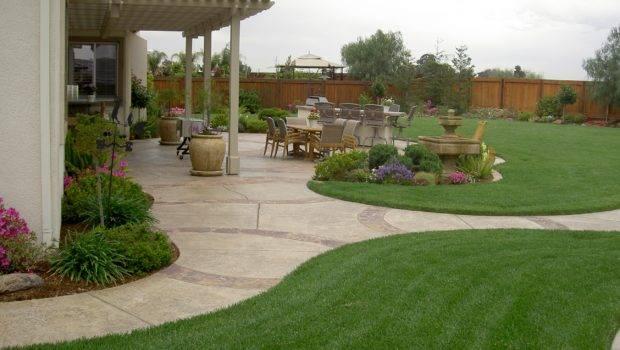 Small Back Yard Landscaping Ideas Narrow Side