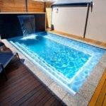 Small Backyard Pools Decks Wopoden Floor Plan Decor