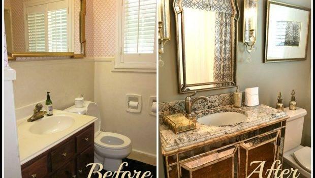 Small Bath Remodels Elegant Glamour Bathroom Ideas
