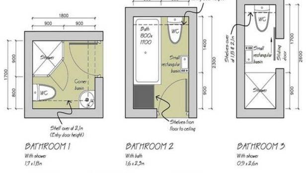 Small Bathroom Design Plans Floor