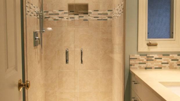 Small Bathroom Remodel Lake Oswego Introduces Light