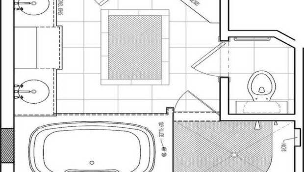 Small Bathroom Remodeling Floor Plan