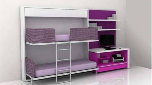 Small Bedroom Children Sollutions Bunk Beds Modern