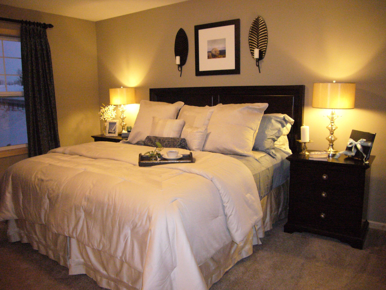 Small Bedroom Colors Designs Elegant Black Bed - Cute ...
