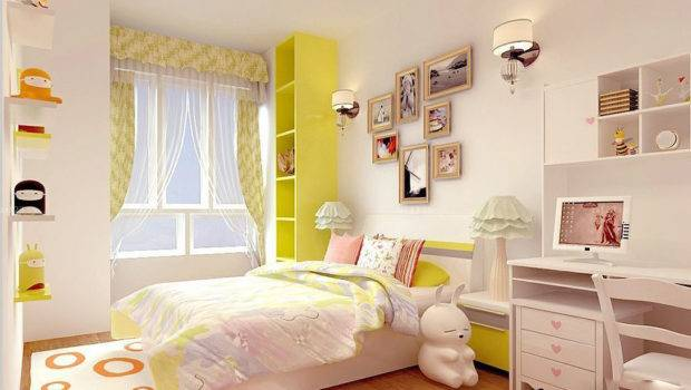 Small Bedroom Design Girl