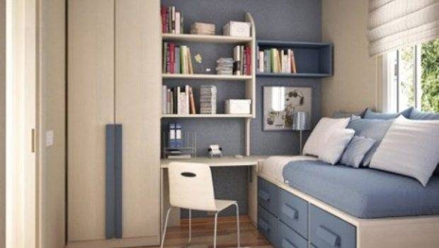 Small Bedrooms Center Space Homecaprice