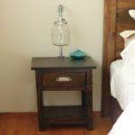 Small Bedside Cabinets Antique Round Wooden Trays Lovely