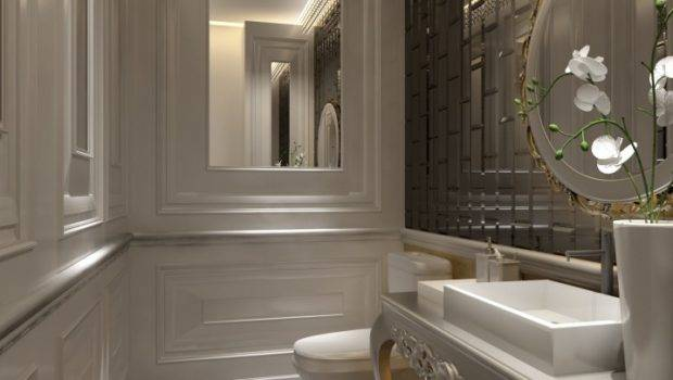 Small But Luxury Bathroom Design Ideas