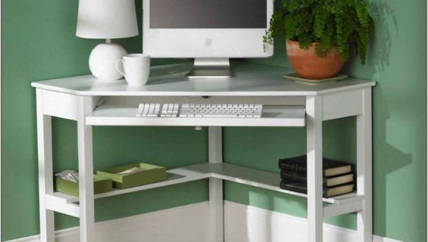 Small Corner Computer Desks Spaces