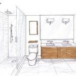 Small Ensuite Bathroom Floor Plans House Home Design