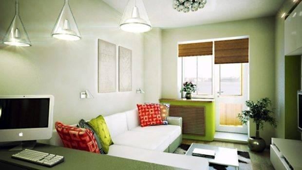 Small Flat Interior Behance