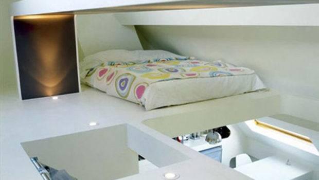 Small Loft Bedroom Ideas Decorative Space Saving Apartment