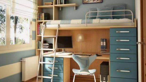 Small Loft Bedroom Ideas Teenage Featuring Bed