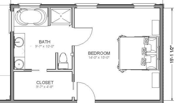 Small Master Bedroom Layout Closet Bathroom