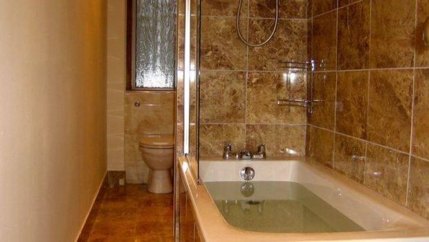 Small Narrow Bathroom Ideas Tile Shower