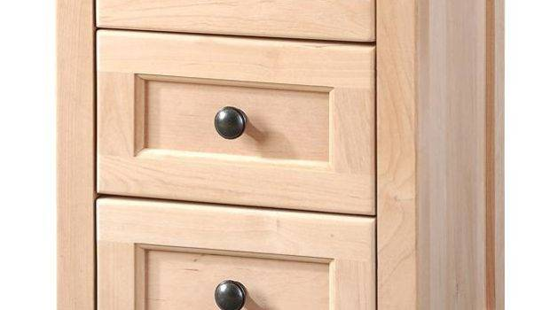 Small Nightstand Drawers Narrow Side Table