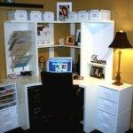 Small Office Adorable Corner Workspace