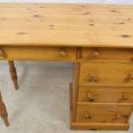 Small Pine Desk Storage Drawers