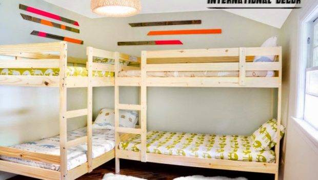 Small Room Design Save Space Classic Bunk Beds