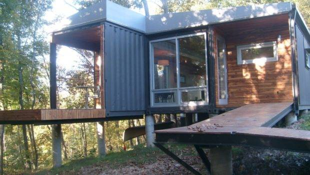 Small Shipping Container Homes House Design
