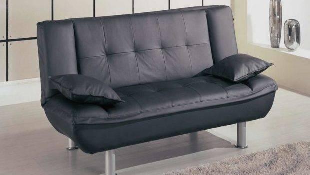 Small Space Sleeper Sofa Black Stroovi