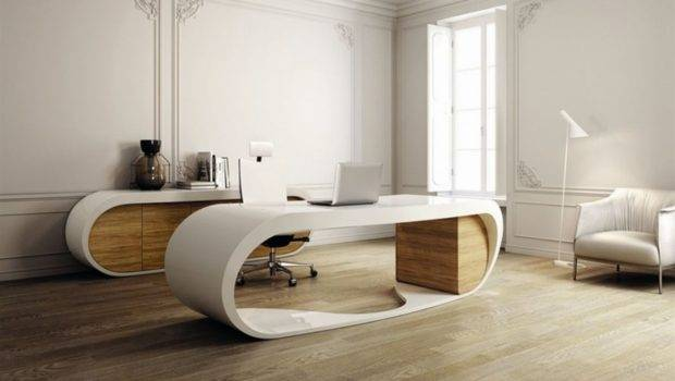 Small Spaces Modern Desks Home