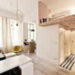 Small Studio Loft Apartment Design